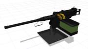 【MMD】ブローニングM2重機関銃(全自動)