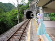 【MMD】ゆかりさんと・・・【in秘境駅】