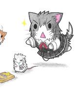 ネズミ提督と朝潮ネコ