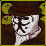 BeHinD_yOU.┓┏. 【ロールシャッハ / Rorschach】【ドット絵】