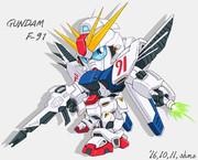 SDでガンダムF91