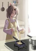 卵焼きを作る瑞鳳
