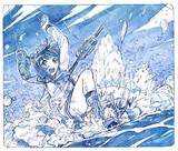 雪風のダイナミック着水