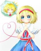 アリス→魔理沙