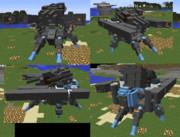 【JointBlock】フルキャノン多脚戦車【Minecraft】