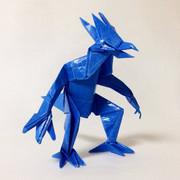 【折り紙】 ゴルダックを折ってみた 【ポケモン】
