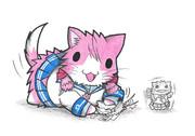 ネズミ提督と明石ネコ