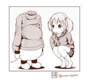 秋になったし艦娘にカーディガンorセーター着せようぜ