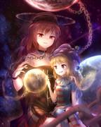地獄の女神と妖精