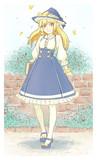 ネコ目魔理沙+コルセットスカート