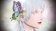 【MMDアクセサリ配布】スチパンアクセ(蝶)