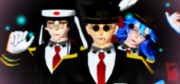 【ナンバカMMD】13舎看守三人