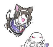 ベンジャミン提督と足柄ネコ