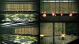 竹と水面ステージ