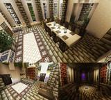 【Minecraft】PS4で街作り中!!!! 城 内装①