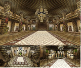 【Minecraft】PS4で街作り中!!!! 城 内装②