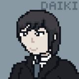 ドット絵で馬鹿のDAIKIさん