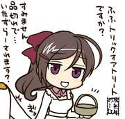 間宮さんに茶目っ気を出してみたところ