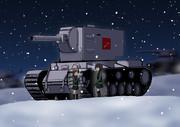 KV-2とニーナとアリーナ