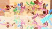 クッキーとリボンのステージ【ステージ配布】