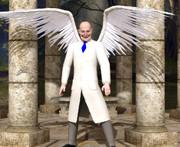 白衣の天使?