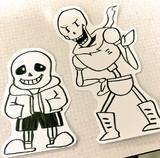 【Undertale】パピルスとサンズ