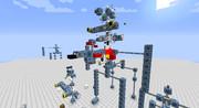 「Minecraft」JointBlockでジムを作る!(リベンジ版)~その2