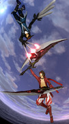 【第五回MMDBASARA戦闘祭】蒼紅最強武器対決