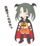 ハロウィン瑞鶴(GIFアニメ)