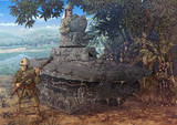 ラバウルの謎戦車
