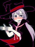 ハロウィン魔女コス輝子