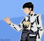 武内Pに抱きつく小梅ちゃん