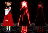 【東方MMD】東方幼霊夢 先代巫女 戦闘服Verと夢想転生