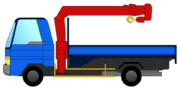 2tトラック(ユニック付き)