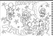 2B鉛筆で結月ゆかり描いてみた【番外編】~ハッピーハロウィン~
