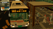 神奈中バスに乗る艦娘達