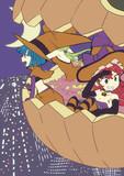 ハロウィンの魔女3人