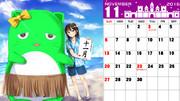 ぴにゃカレンダー「11月」