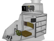 【MMD】ルノーFT-17内装モデル