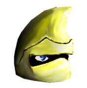 ゆっくりアーサー(黄金の鎧)