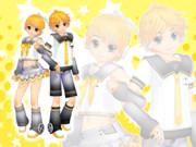 【MMD】リンちゃんとレンくんのモデル追加とか【モデル配布】
