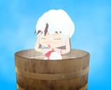 お風呂に入るサケノミ【MMD進捗報告】