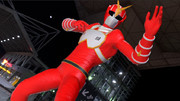 3DCGと化した超人サイバーZ