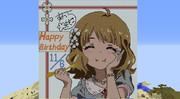 【Minecraft】周防桃子ちゃんお誕生日おめでとう【ドット絵】