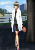 妙高さんと近所にお散歩