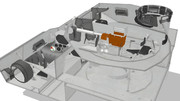 【MMD】Ⅳ号戦車内装モデル