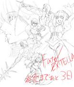 Fate/EXTELLA発売3日前