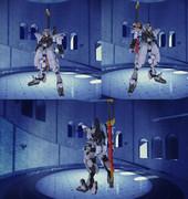【ガンダムブレイカー3】ハクメン【再現機体】