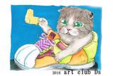 ネコのイラスト展