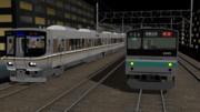 電車でD 205系vs223系